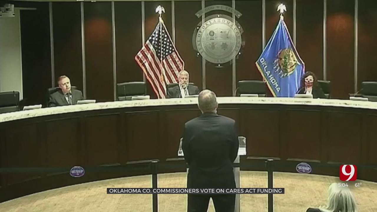 Okla. Co. Commissioners Pass Final Multi-Million Dollar CARES Act Vote Days Before Spending Deadline
