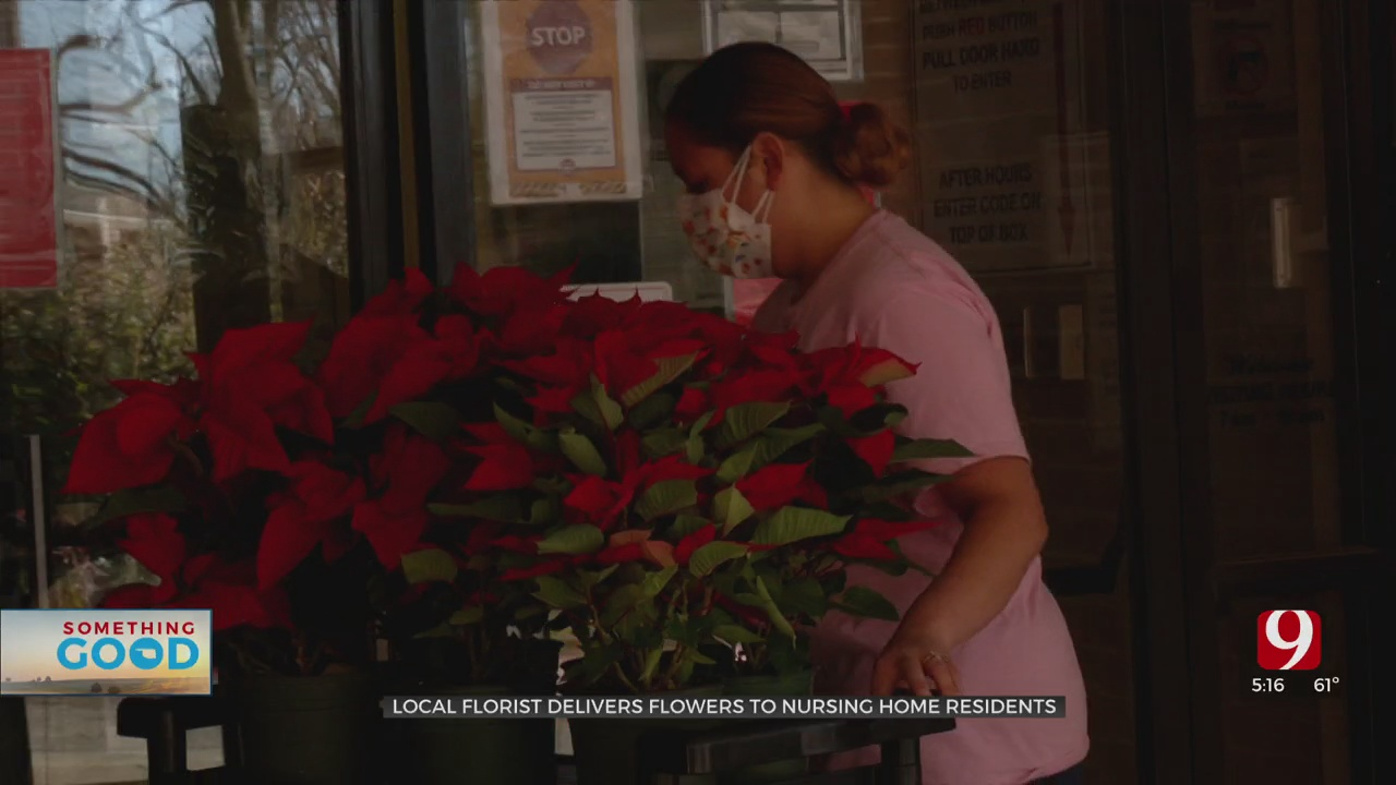 Local Business Delivers Flowers To Nursing Home Residents