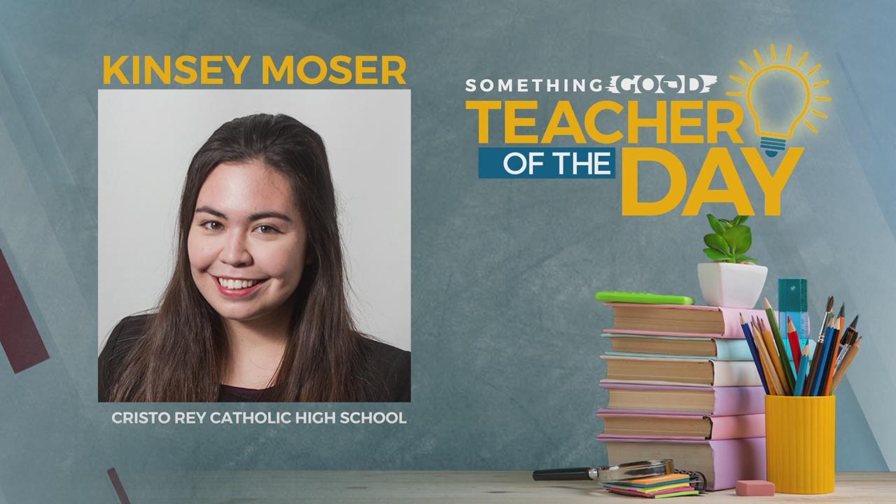Teacher Of The Day: Kinsey Moser