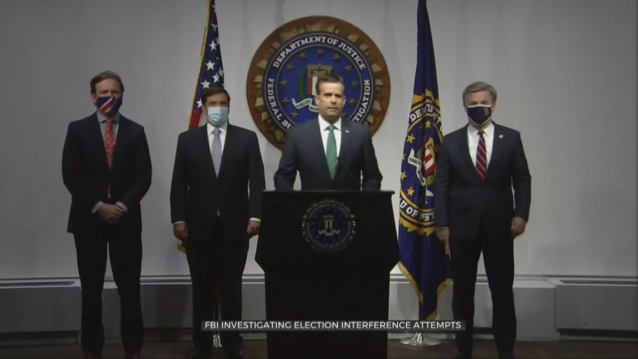 FBI Investigates Election Interference Attempts From Iran, Russia