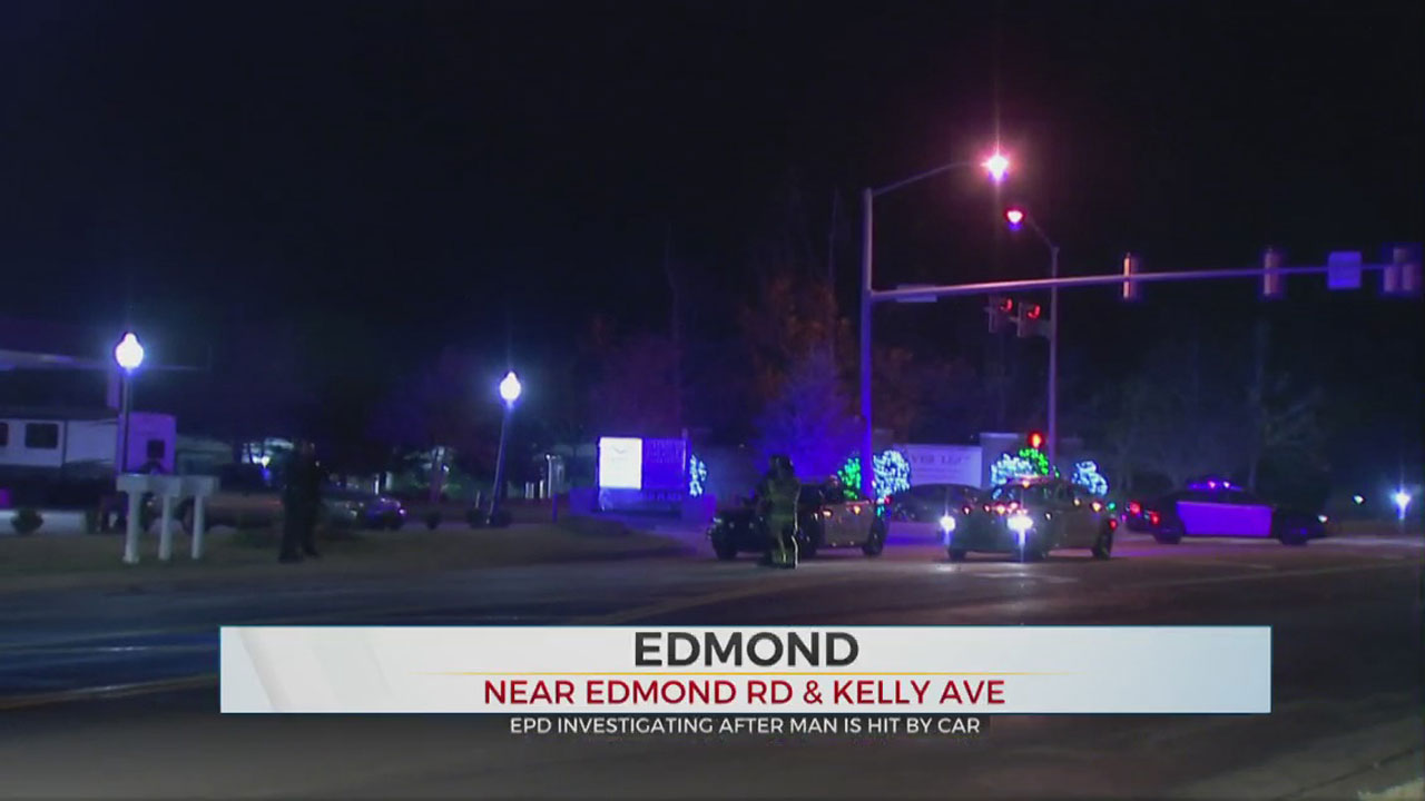 Man Struck By Vehicle While Crossing Street In Edmond