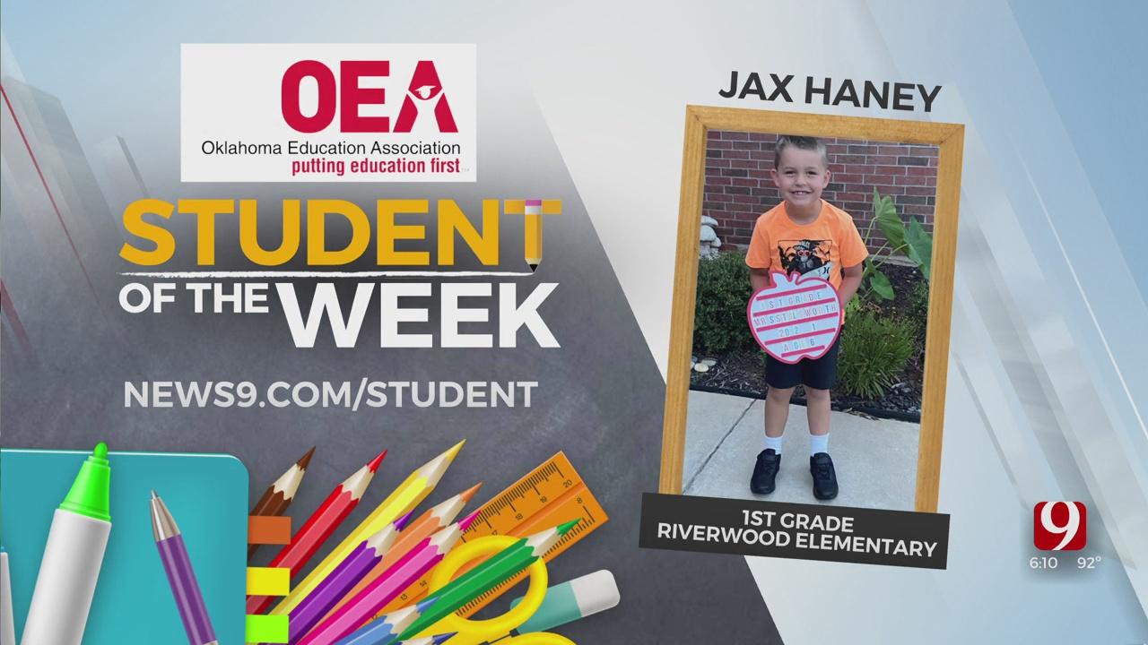 Student of the Week: Jax Haney