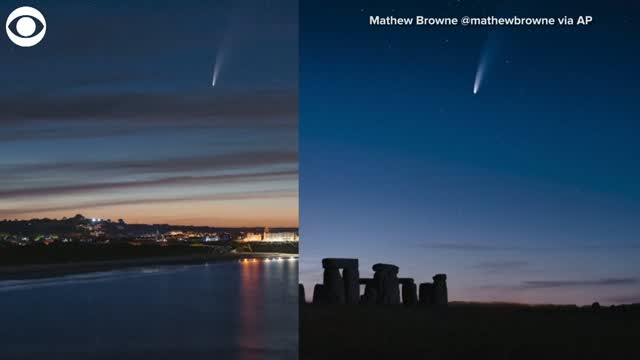 WATCH: NEOWISE Comet Makes Appearance Around The World