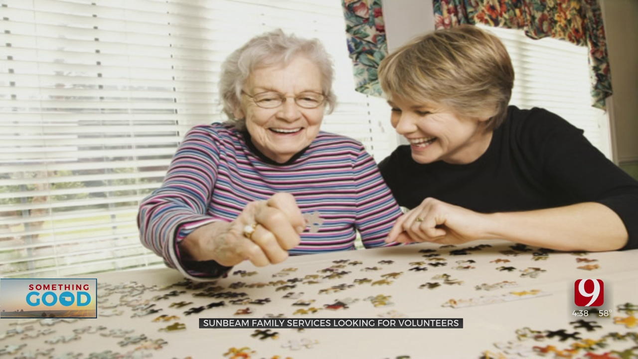 Sunbeam Family Services In Need Of Volunteers For Senior Engagement Program