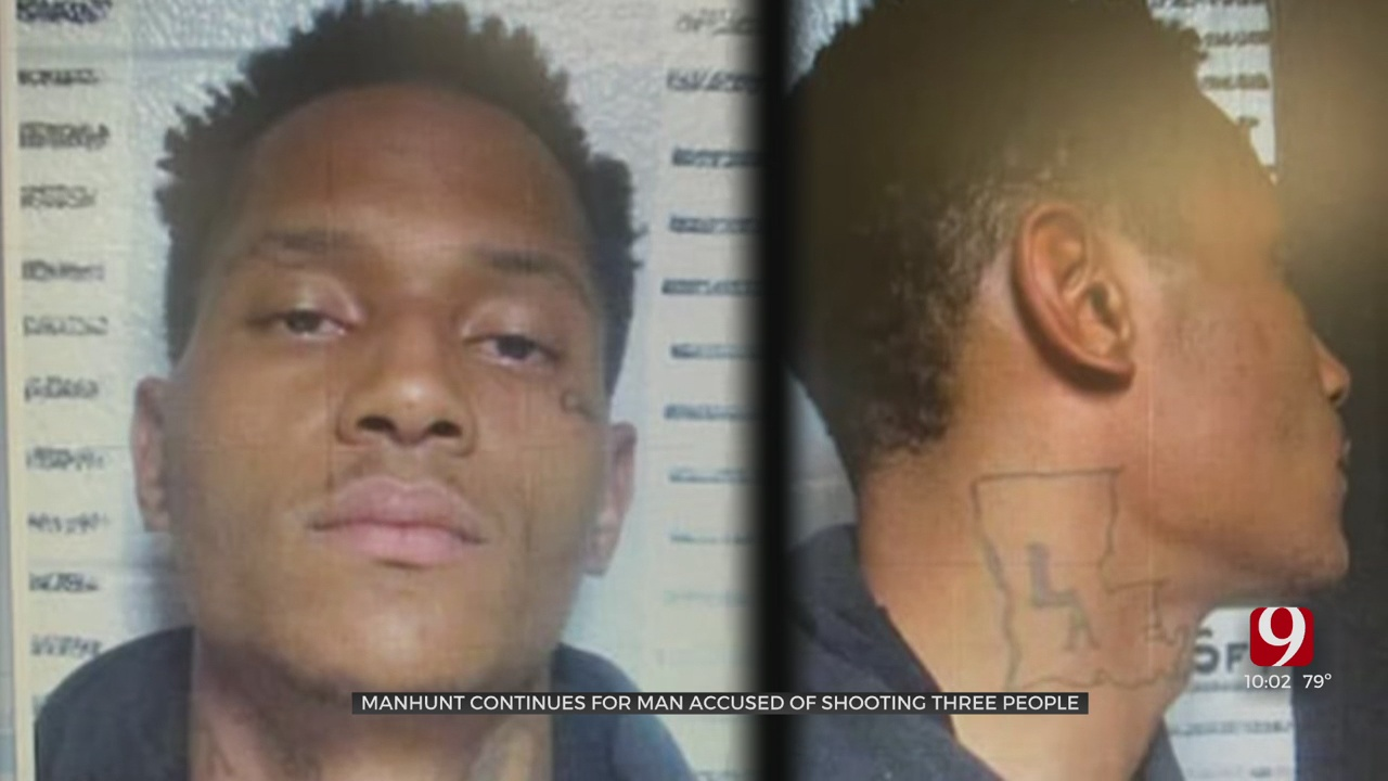 Multi-State Manhunt Continues For Suspect Accused Of Shooting Woman & 2 Good Samaritans