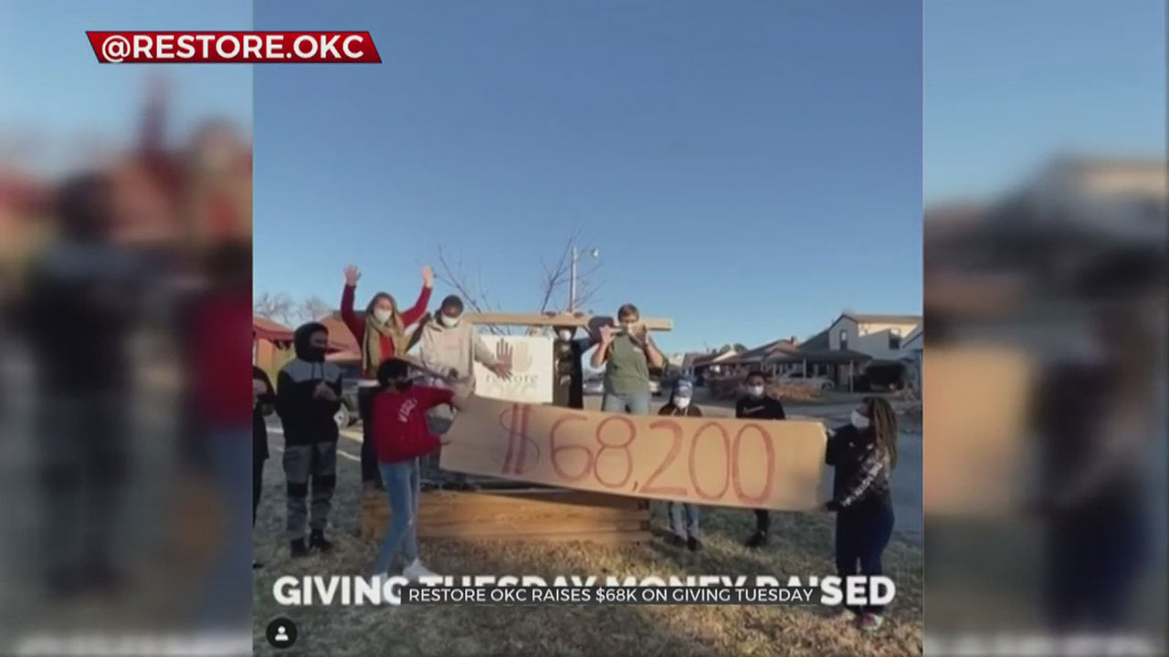 RestoreOKC Blows Giving Tuesday Goal Out Of The Water, Raises $68,000