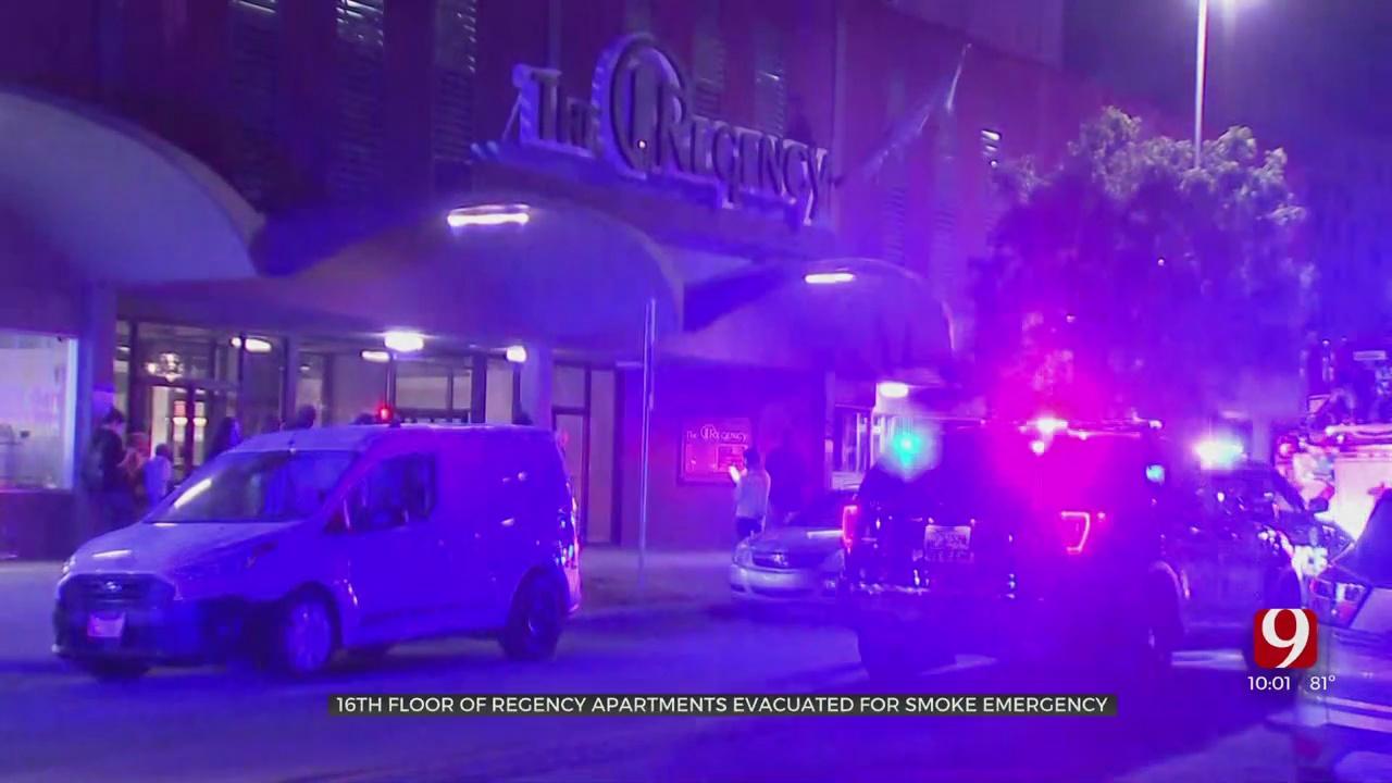 16th Floor Of Regency Apartments Evacuated For Smoke Emergency