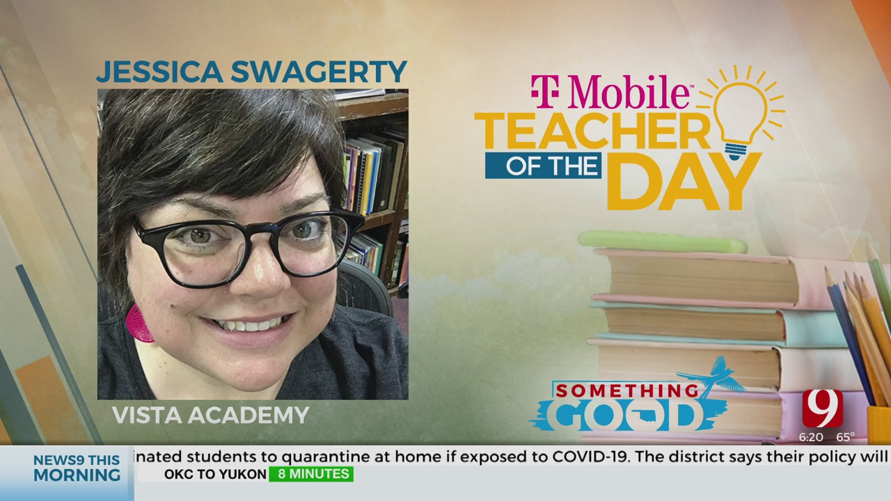 Teacher Of The Day: Jessica Swagerty