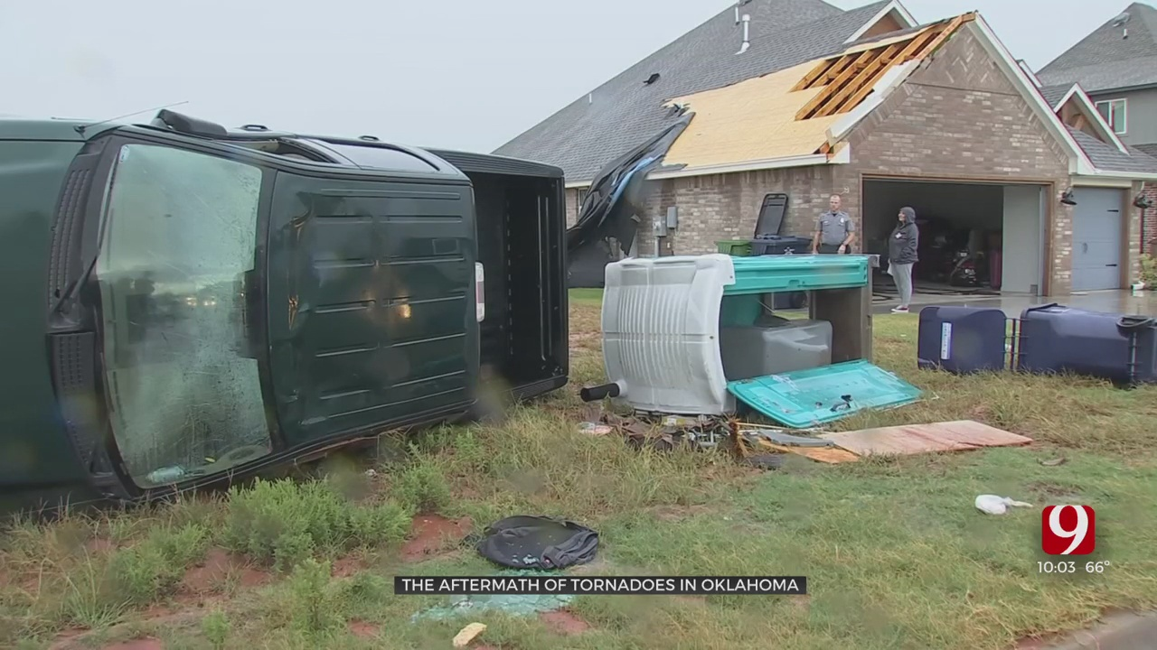 Oklahomans Assess Storm Damage After Multiple Tornadoes