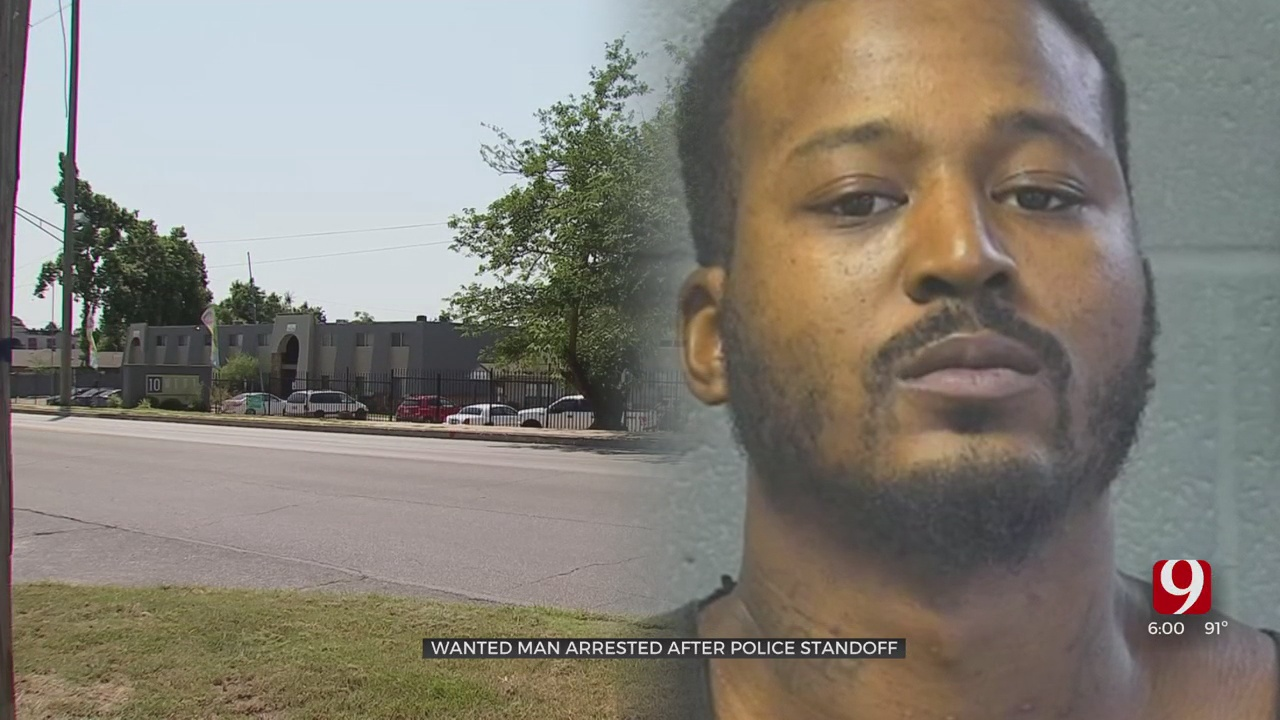 Pimp Suspect Arrested After Standoff In NW OKC Apartment Complex