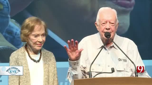 Jimmy & Rosalynn Carter Mark 75th Wedding Anniversary