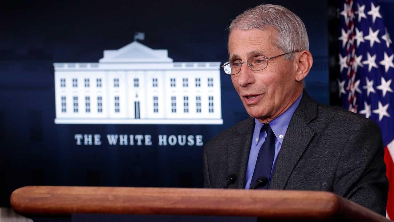 Fauci Warns U.S. May See 'Surge Upon Surge' Of Virus In Coming Weeks