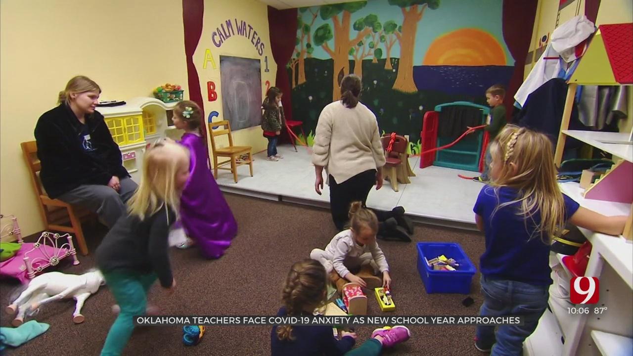 Oklahoma Teachers Face COVID-19 Anxiety As New School Year Approaches
