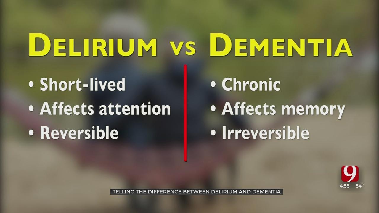 Medical Minute: Delirium Vs. Dementia
