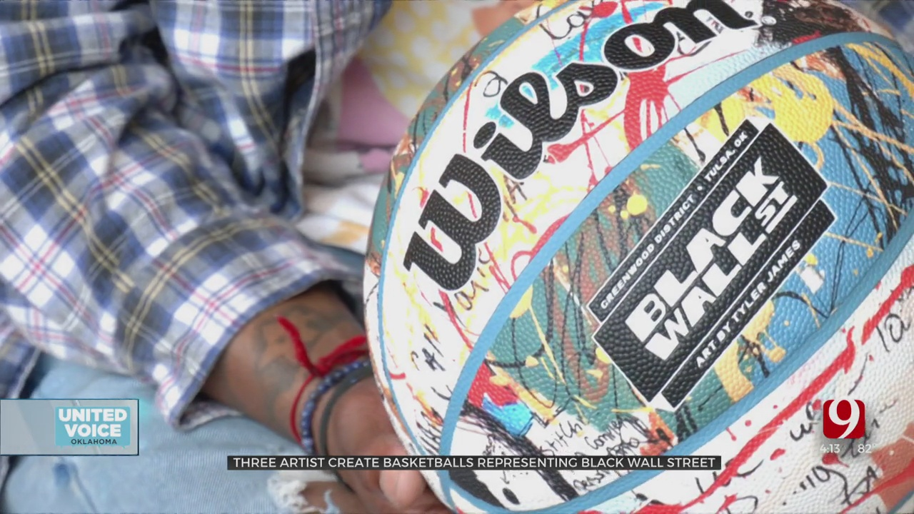 Wilson Creates Special Black Wall Street Basketball Collection With Help From Local Artists