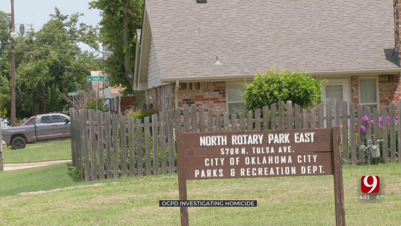 Woman Found Dead In Vehicle After Shooting At NW OKC Park