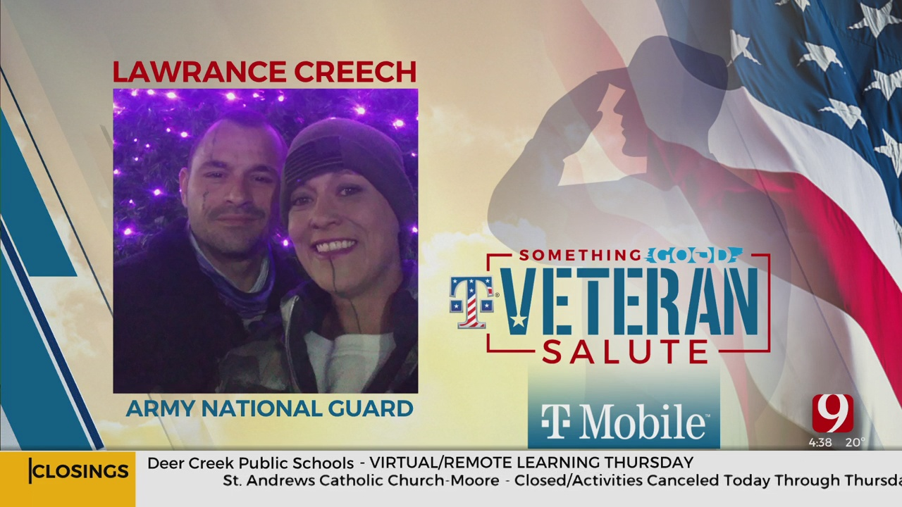 Veteran Salute: Lawrance Creech
