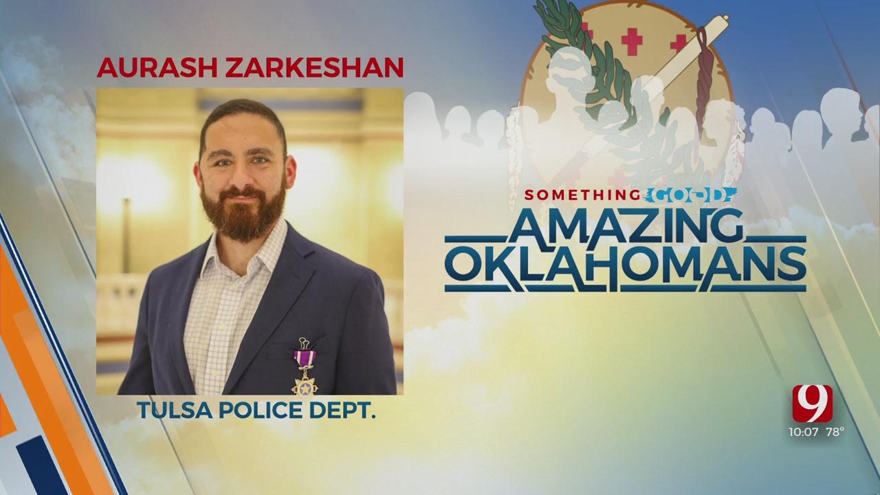 Amazing Oklahoman: Blake Shelton To Honor Tulsa Officer
