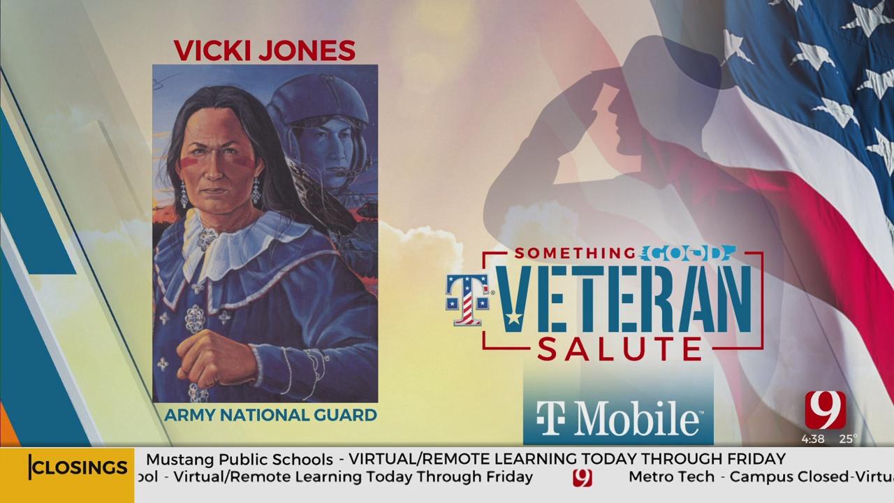 Veteran Salute: Vicki Jones