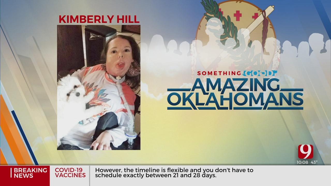 Amazing Oklahoman: Kimberly Hill