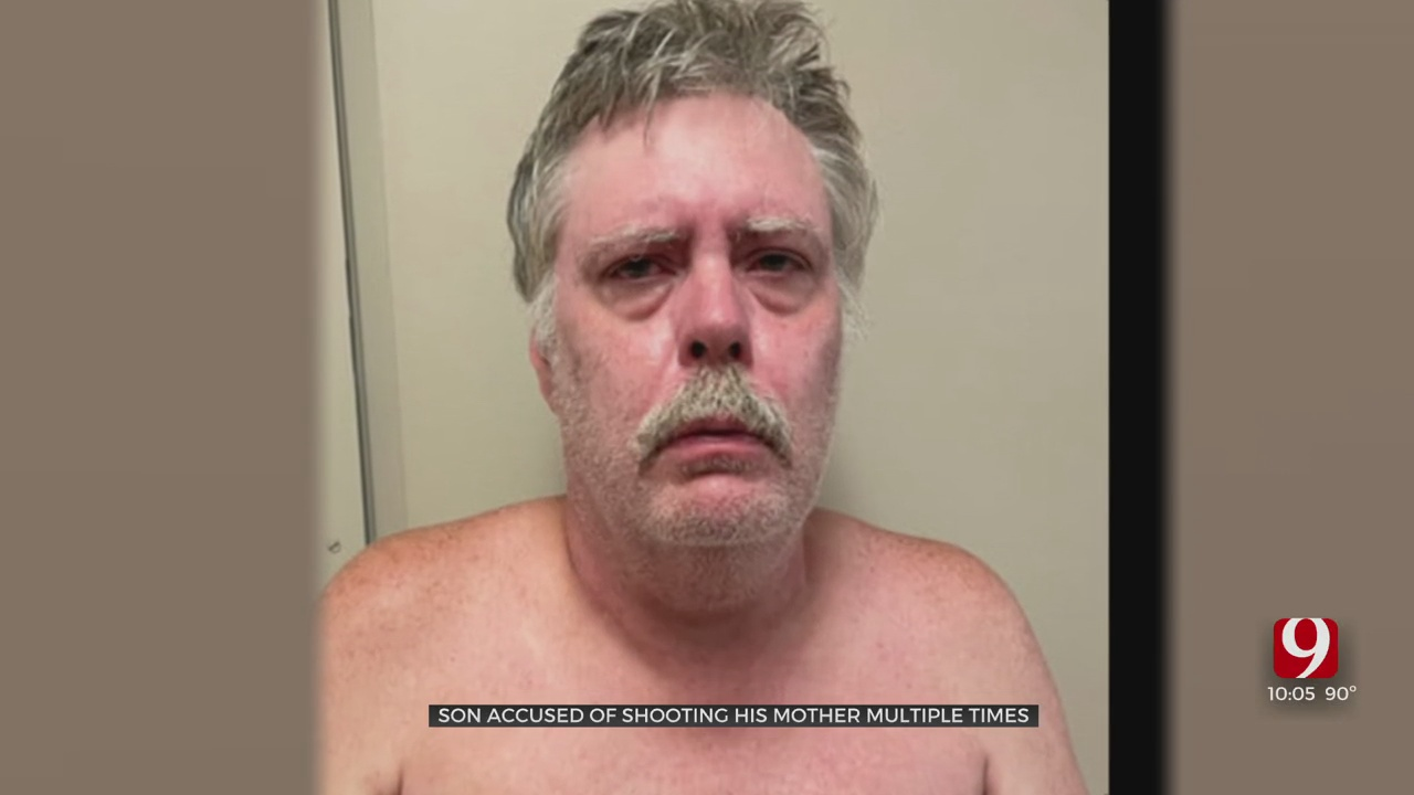 Enid Man Behind Bars After Admitting To Shooting His Mother Multiple Times In Their Home