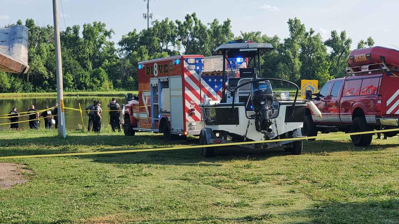 OKCFD Dive Team Recovers Body Of Drowning Victim At NE OKC Park
