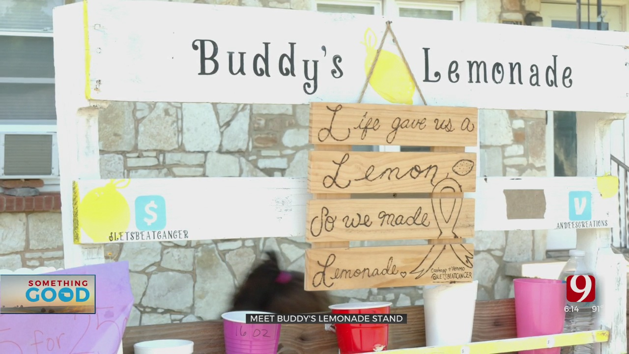 Del City Teen Opens Lemonade Stand To Help Support Grandmother Battling Stage 4 Breast Cancer