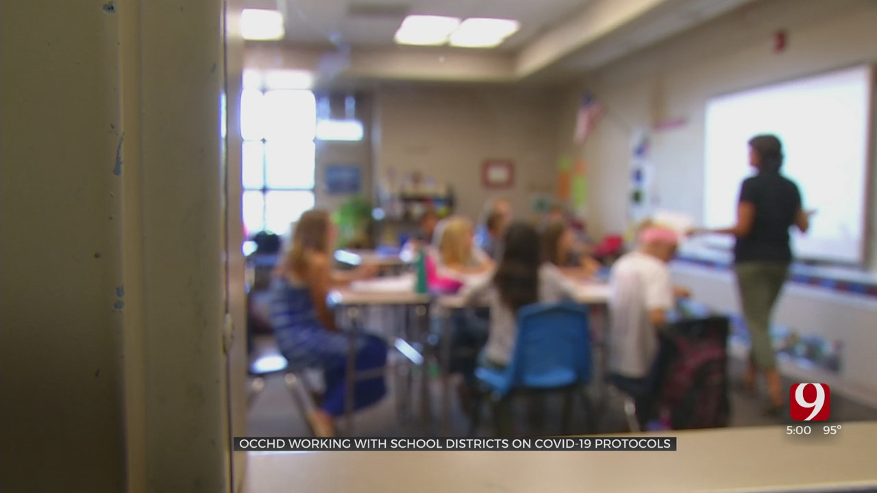 OCCHD Discusses Guidance Given To Schools Regarding Close Contacts, Quarantining