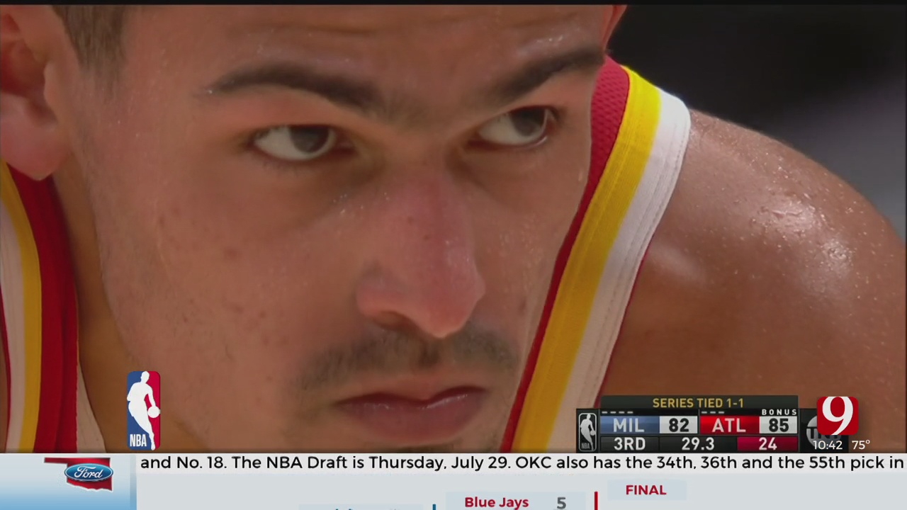 Trae Young And The Hawks Square Off With The Bucks In The ECF