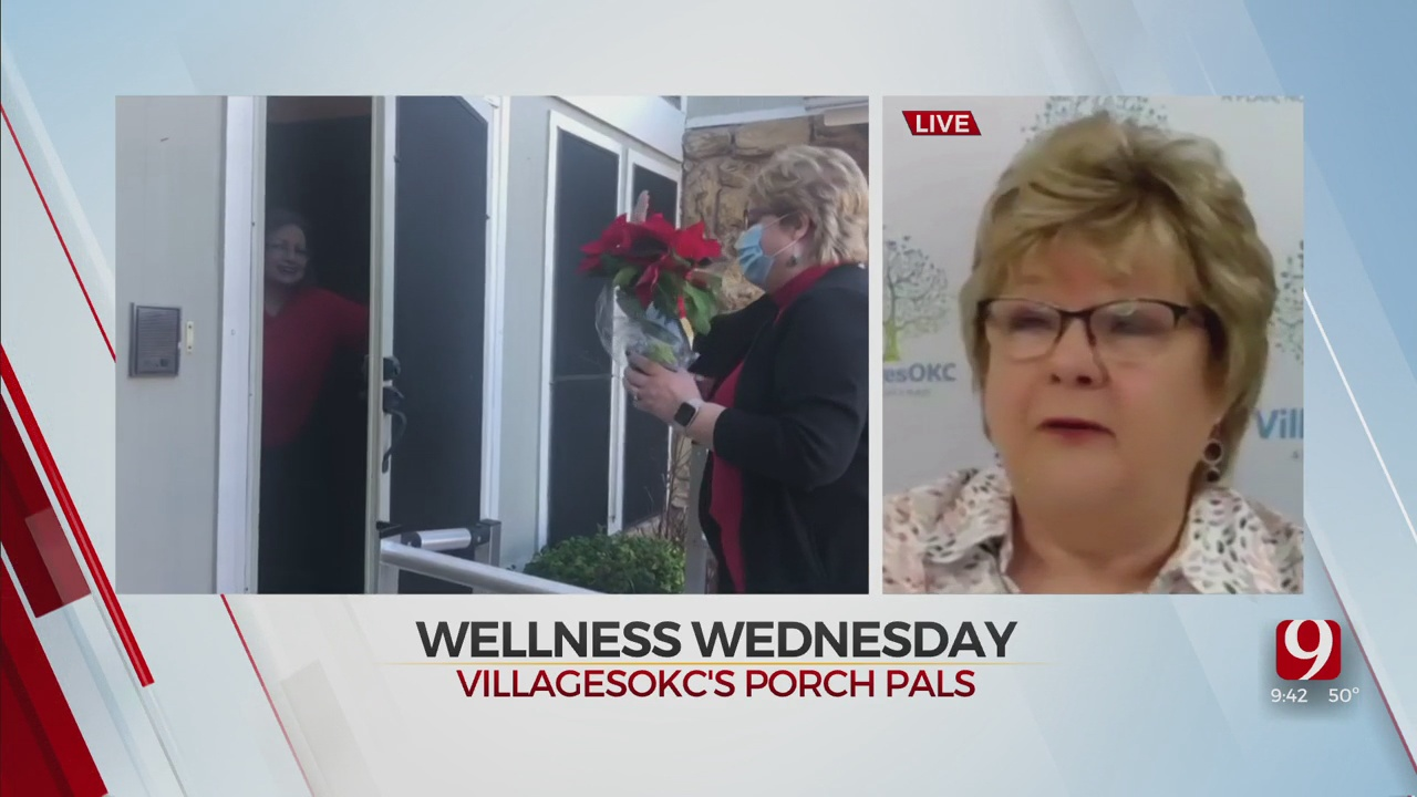 Wellness Wednesday: Porch Pals