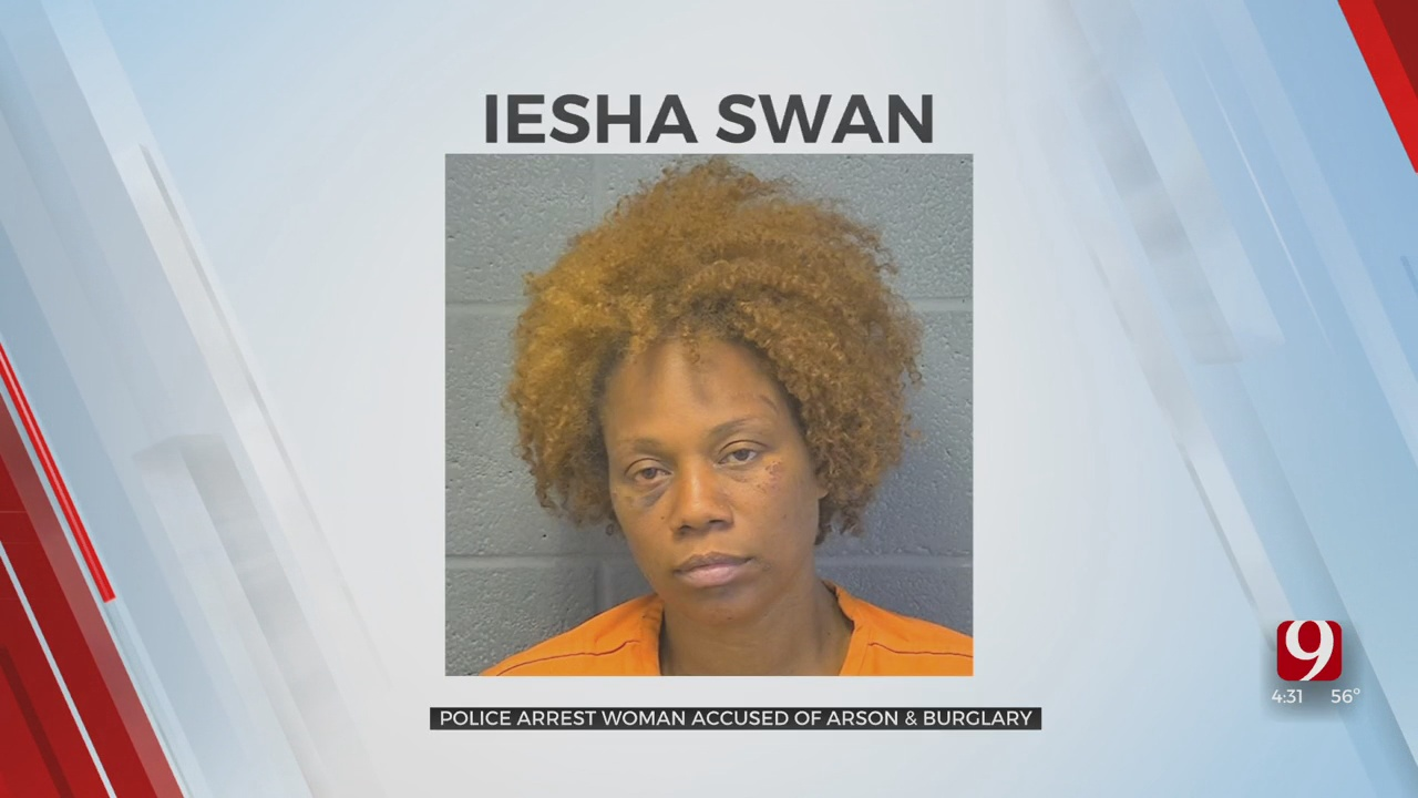 Woman Accused Of Burning Her Clothes In OKC Apartment Complex, Assaulting 75-Year-Old Man