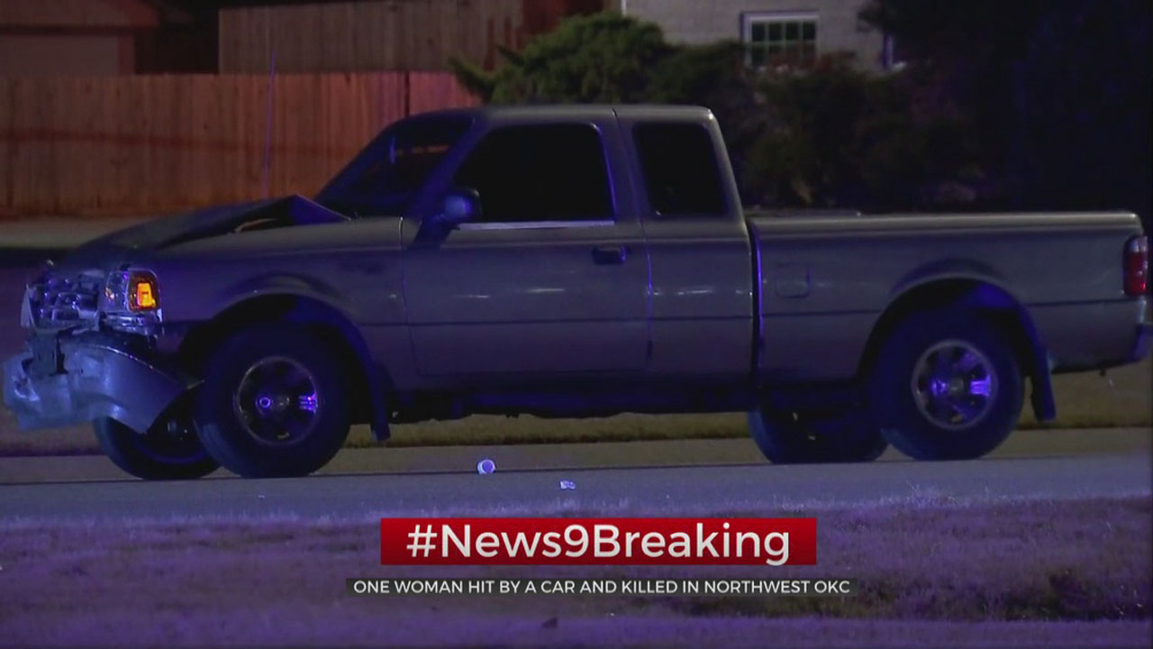 Woman Hit, Killed In NW OKC Accident