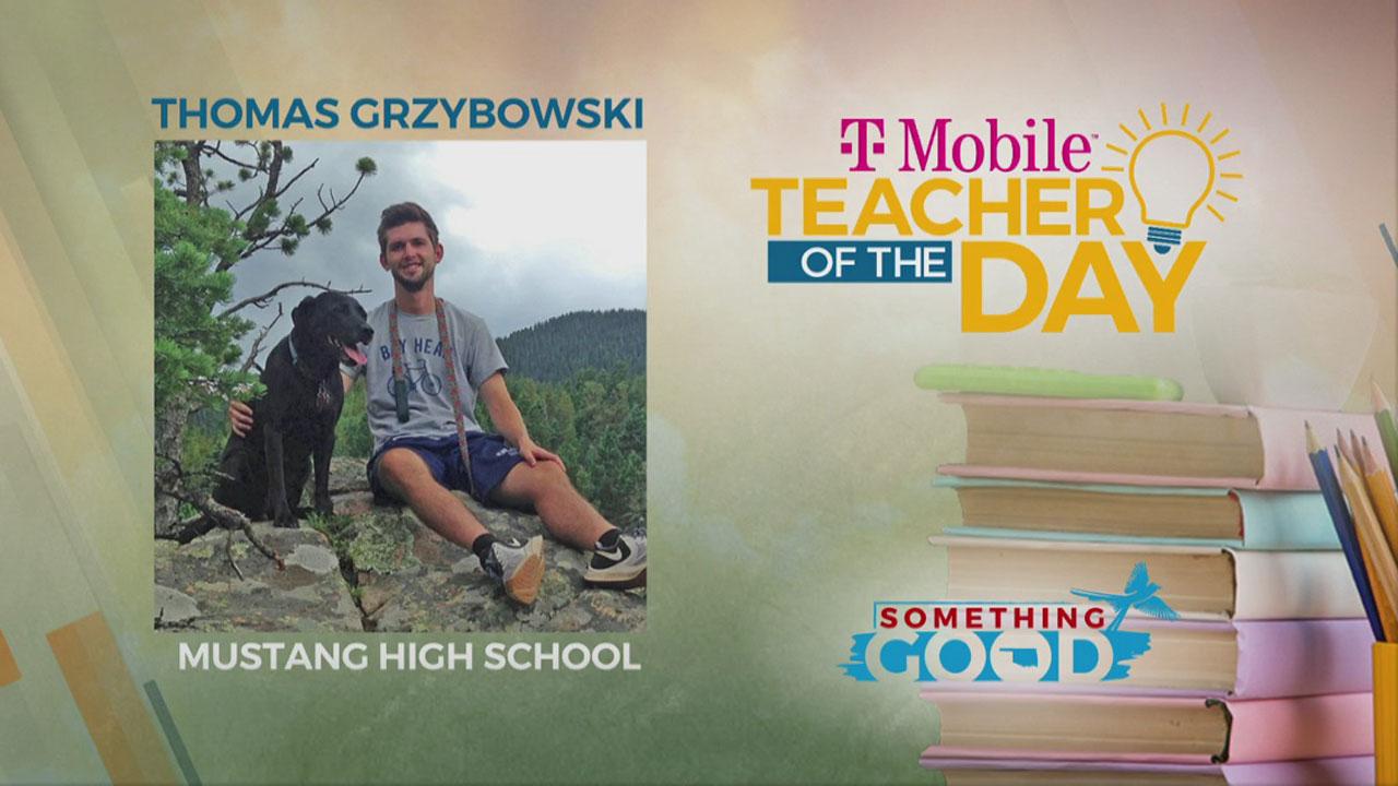 Teacher Of The Day: Thomas Grzybowski