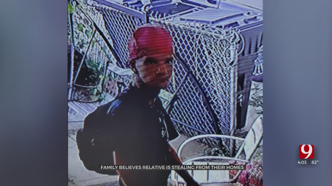 Metro Burglary Suspect Accused Of Targeting Relative's Homes