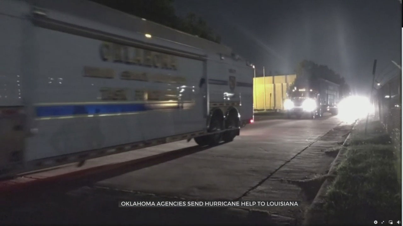 Oklahoma Agencies Helping With Rescue Efforts After Hurricane Ida