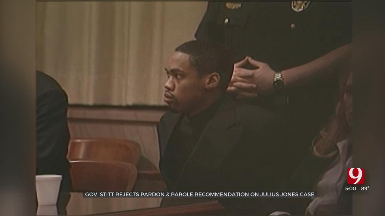 Gov. Stitt Speaks After He Rejects State Pardon & Parole Board's Recommendation On Julius Jones' Case