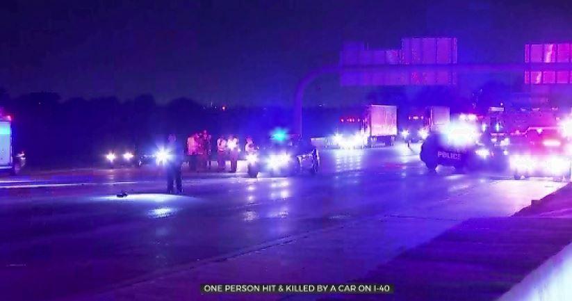 1 Person Struck, Killed In Auto-Pedestrian Accident On Interstate 40
