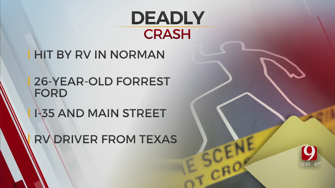 Pedestrian Struck, Killed By RV In Cleveland County