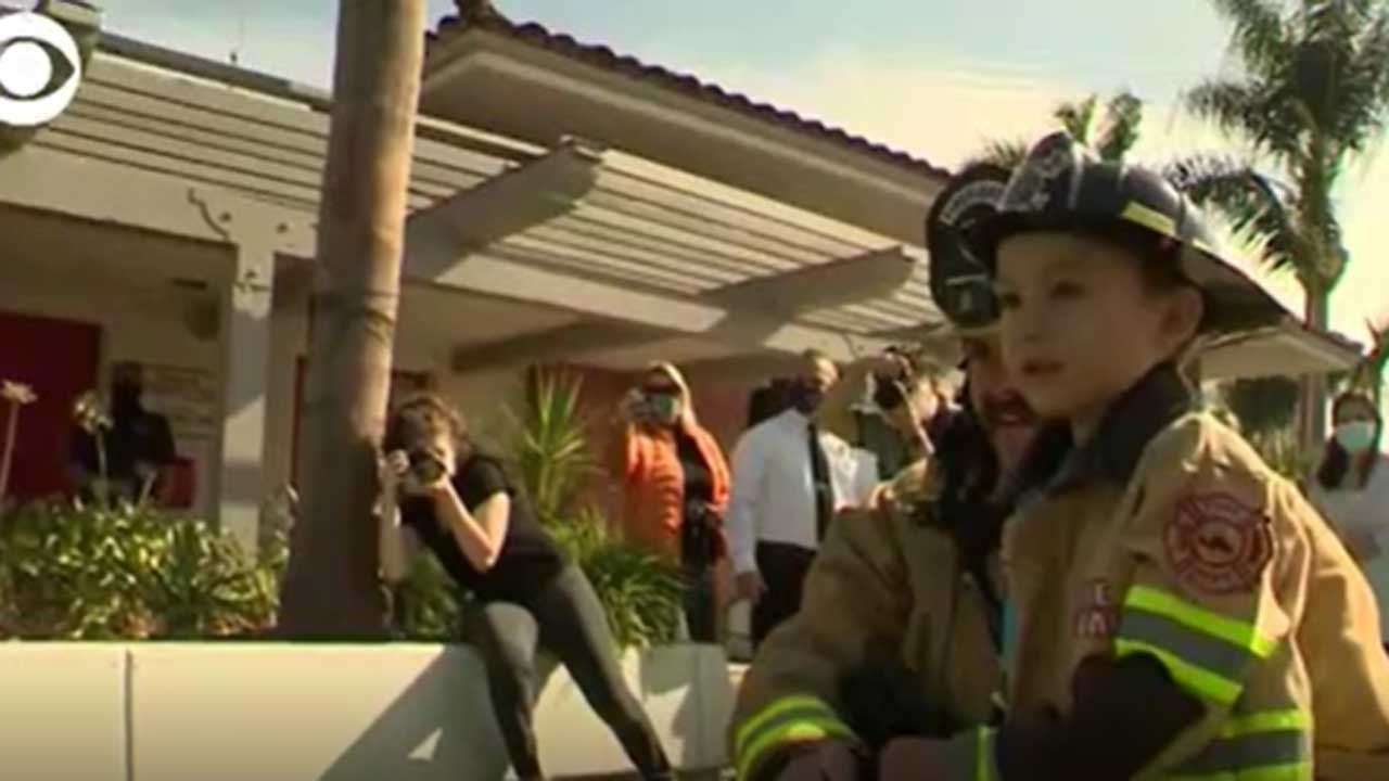 WATCH: 4-Year-Old Boy Honored For Saving Younger Brother's Life
