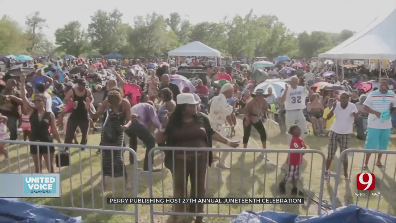 Perry Publishing & Broadcasting Set To Host 27th Annual Juneteenth Celebration In OKC