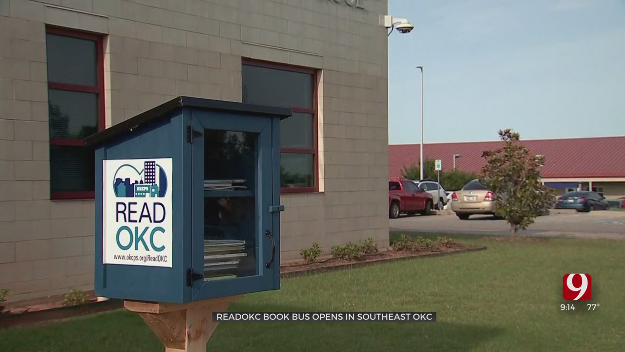 ReadOKC Bus To Set Up Shop At Cesar Chavez Elementary
