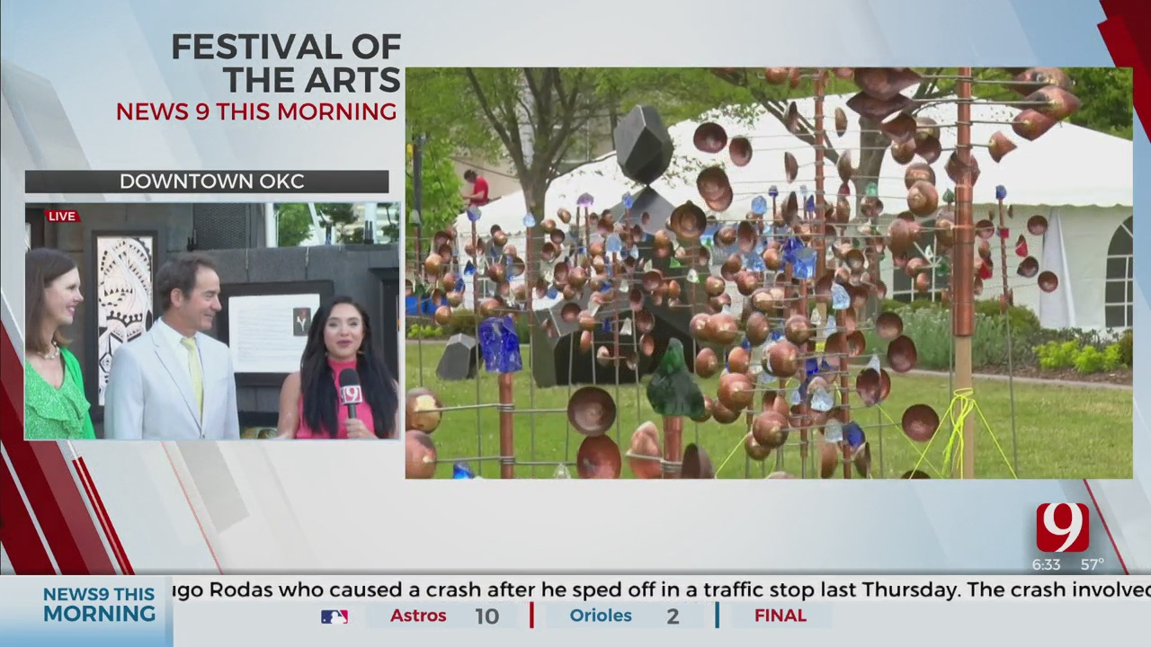 Festival Of The Arts Opens In OKC After Pandemic Forces Cancellation In 2020, Postponement In 2021