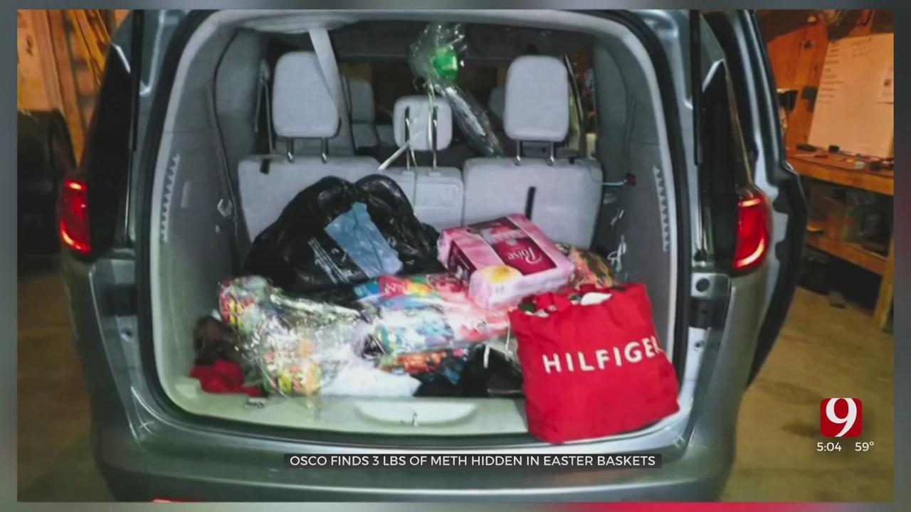 Man Arrested After Deputies Discover Drugs Hidden Under Children's Easter Baskets