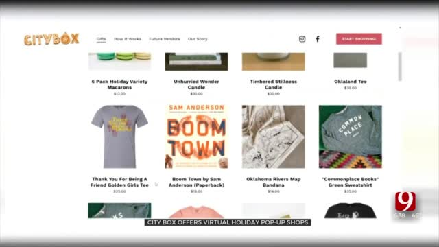 City Box Offers Virtual Holiday Pop-Up Shops
