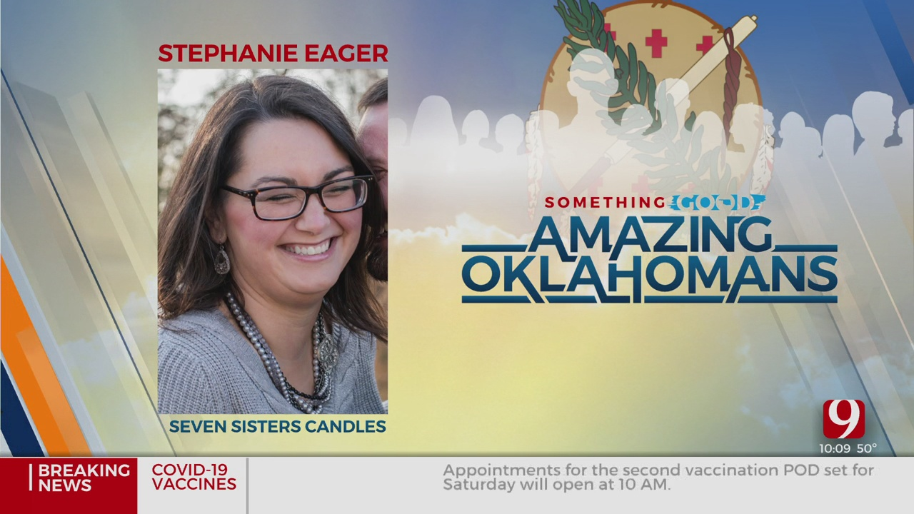 Amazing Oklahoman: Stephanie Eager