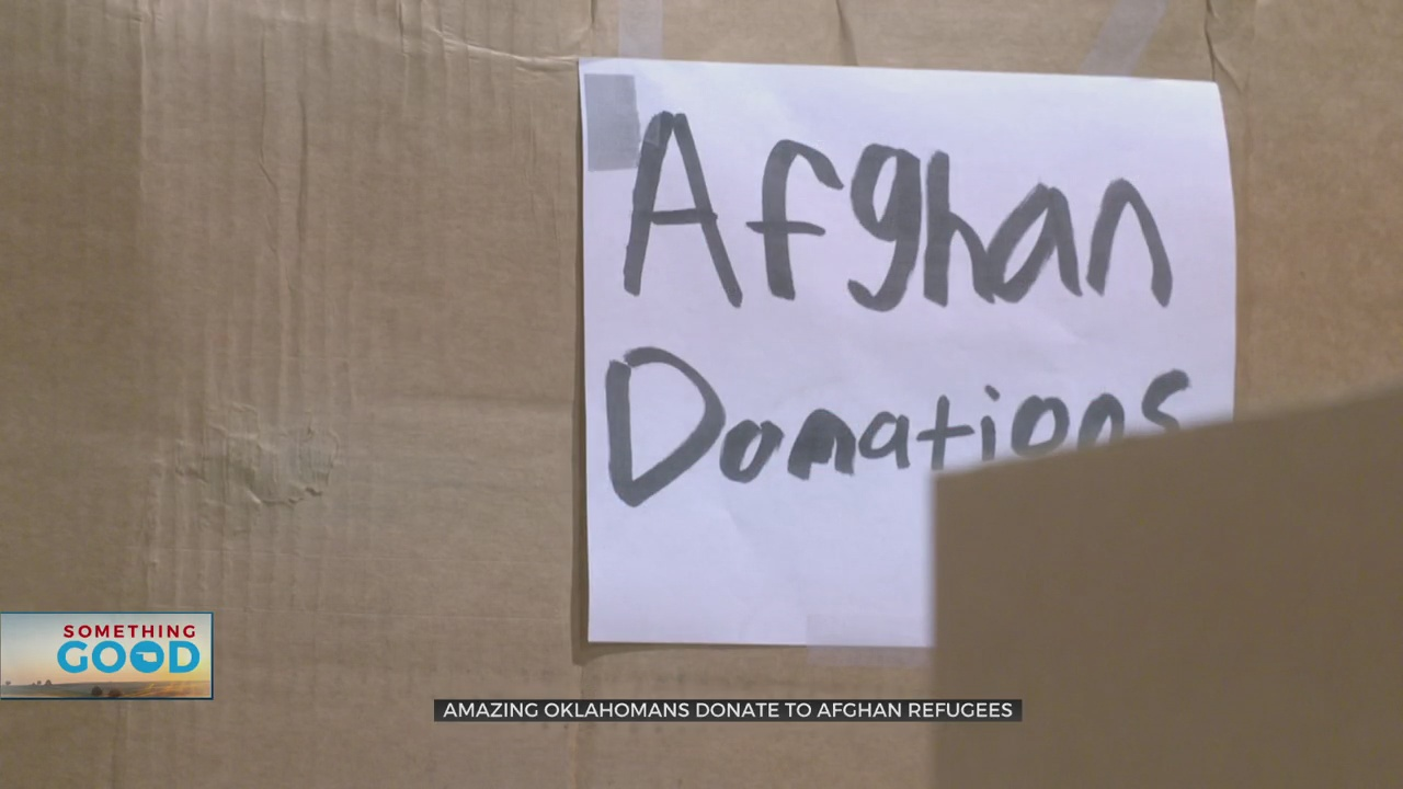 Amazing Oklahoman: Donations For Afghan Refugees