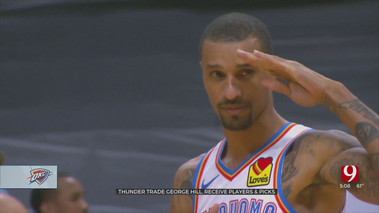 Oklahoma City Thunder Trade George Hill, Remain Active On Day Of NBA Trade Deadline