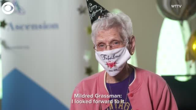WATCH: Woman Celebrates 100th Birthday With Getting 2nd Dose Of The COVID-19 Vaccine