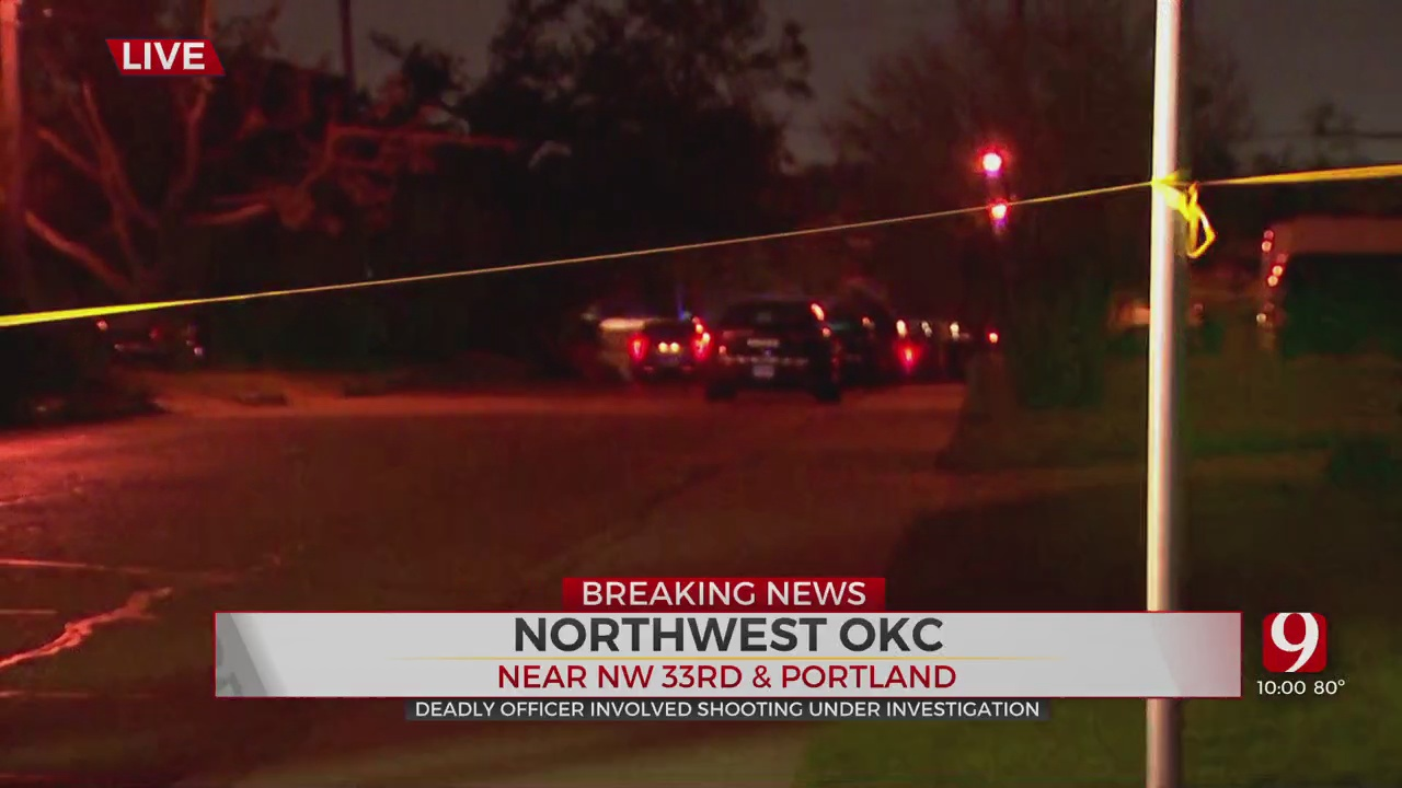 Person Dies After Police Shooting In NW OKC