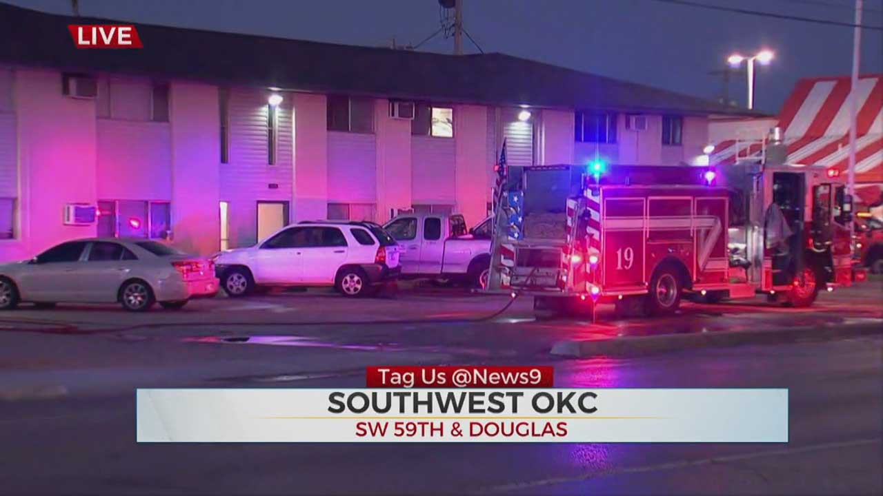 1 Man Hospitalized After Apartment Fire In SW OKC